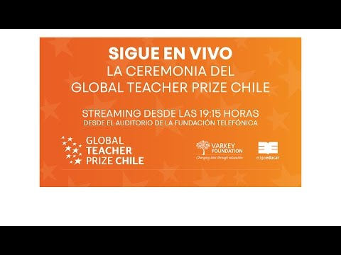 Ceremonia de Premiación del Global Teacher Prize Chile 2017