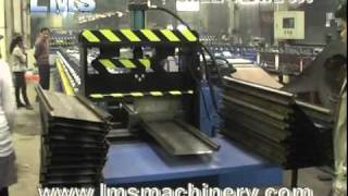 Micro Rack Shelf Plate Roll Forming Machine