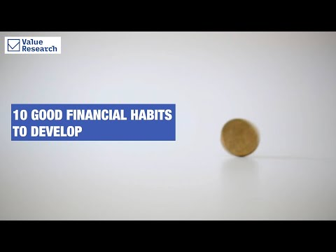 10 good financial habits to develop