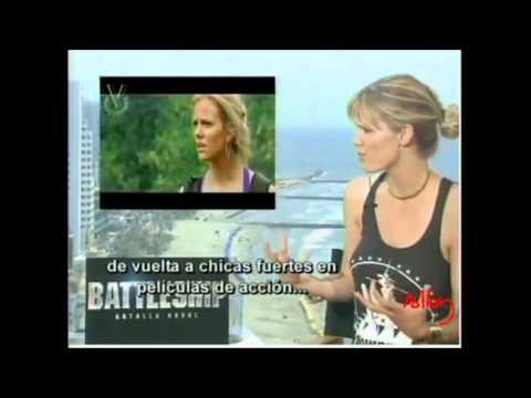 Battleship premiere in Cartagena interviews