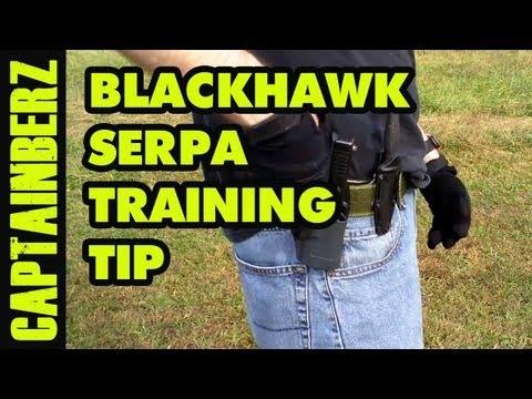 BlackHawk Serpa Holster Training Tip
