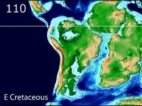 Plate Tectonic Evolution of South America - Scotese Animation