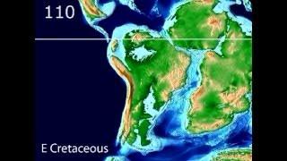 Plate Tectonic Evolution of South America - Scotese Animation