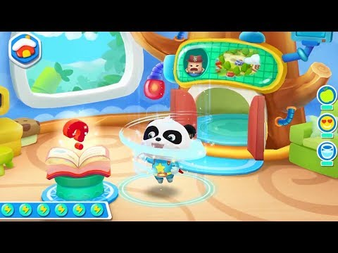 Little Panda Save English Town | ABC Learning for Kids | Gameplay Video | BabyBus Game