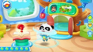 Little Panda Saves English Town | ABC Learning for Kids | Gameplay Video | BabyBus Game