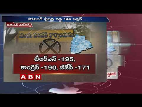 All set for  MPTC, ZPTC elections in Telangana | Elections 2019 | ABN Telugu