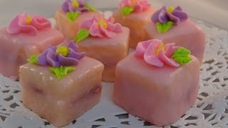 Petits Fours (iced mini cakes) - with yoyomax12
