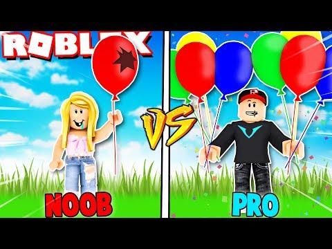 NOOB VS PRO W ROBLOX BALLOON SIMULATOR | Vito vs Bella