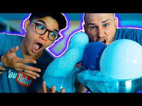Thumbnail: DIY 5 INSANE DRY ICE HACKS! ft. CrazyRussianHacker