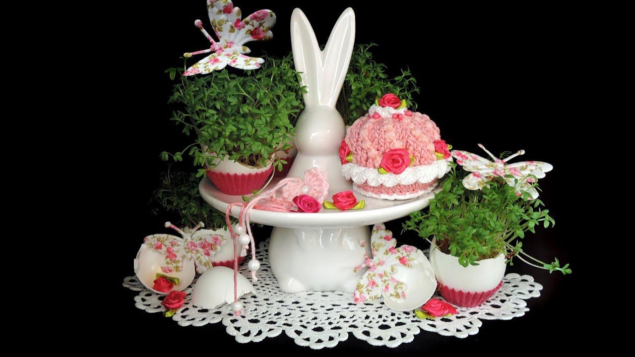 Rosa Laune Frühlings Törtchen Pink Muffin Cupcakes Häkeln Crochet
