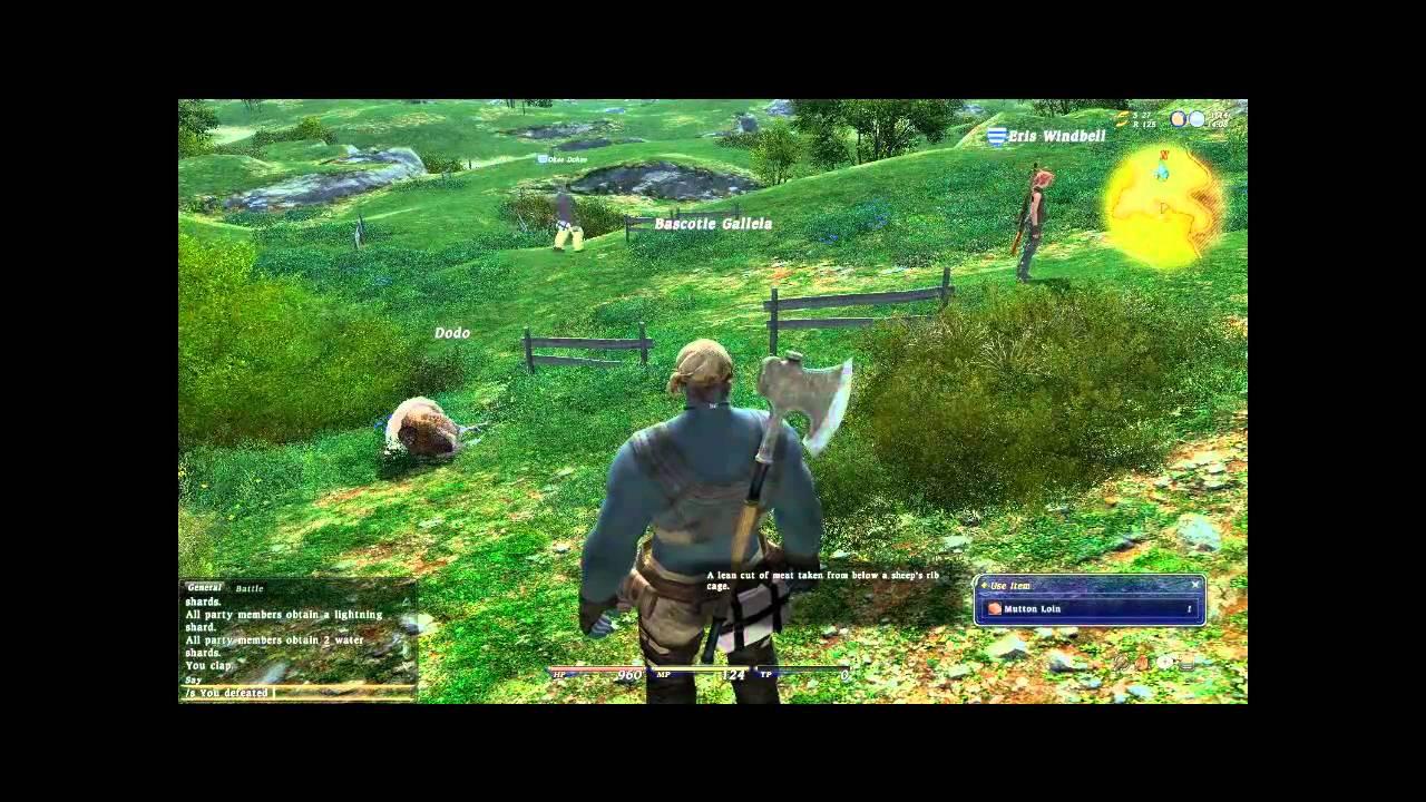 Final Fantasy Xiv Gameplay The Infamous Dodo Bird Youtube