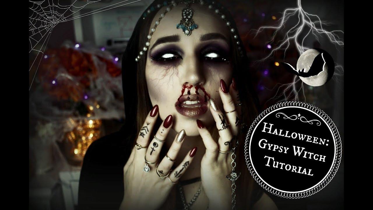 Halloween Series: Gypsy Witch // Stefania Lasagna - YouTube
