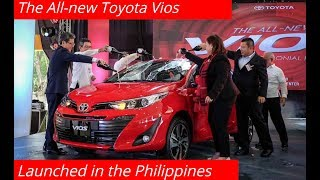Toyota Motor Philippines Launched of the All-new Toyota Vios