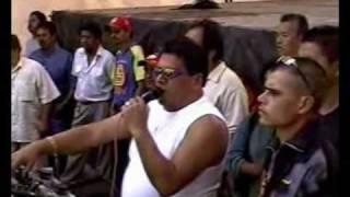 El gigante CONDOR en vivo en la merced embrujo de cumbia