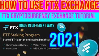 FTX Cryptocurrency Exchange How to Use FTX Exchange FTX Tutorial