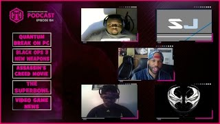 GMG SHOW LIVE EP. 104 - QUANTUM BREAK ON PC, BLACK OPS 3 DLC NEW WEAPONS , VIRTUALDOLLS SEX TOY WTF!