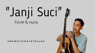 Download JANJI SUCI COVER BY AWAWIN