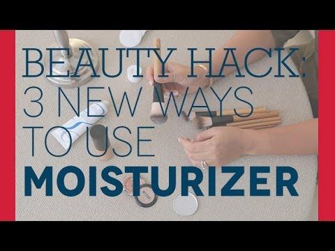 3 New Ways to Use Moisturizer