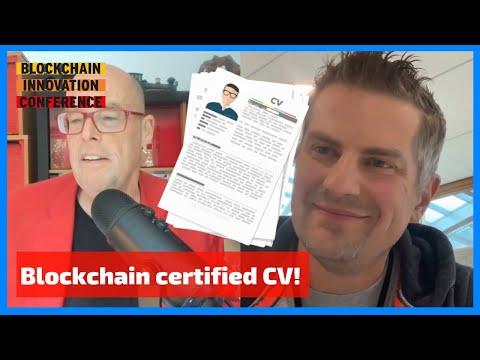 Digital CV certifies employee skills on the blockchain #BIC19 | Marc Jansen Rabobank