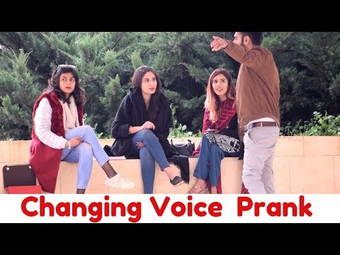 CHANGING VOICE PRANK