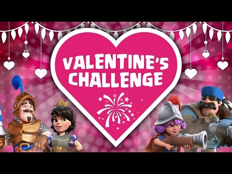 Clash Royale Valentines Challenge | Who's the Best Team ?