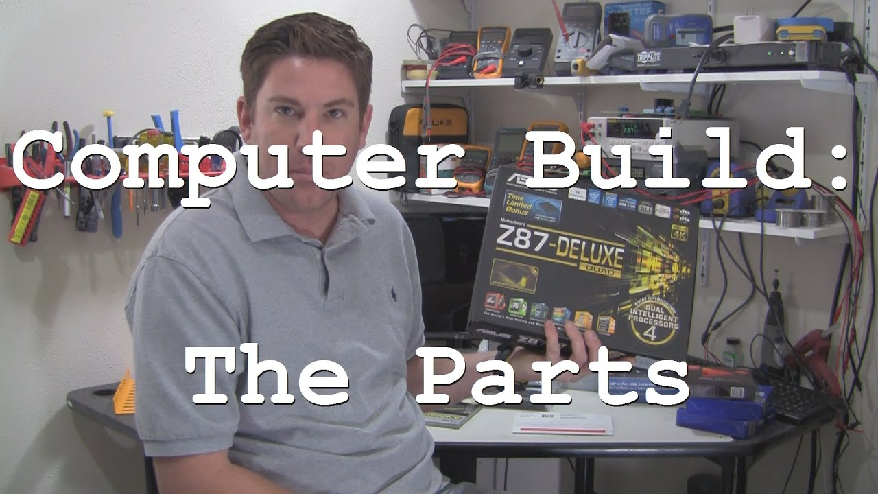 acf 004 office video editing computer build the parts list part 1 of 4 build office video