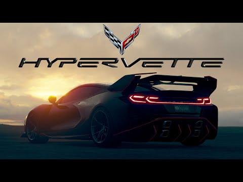 Corvette C8 [Hypervette] Bodykit by hycade