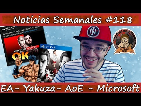 Noticias semanales #118 - EA se rie de la gente - Yakuza - Secret of Mana - No More Heroes