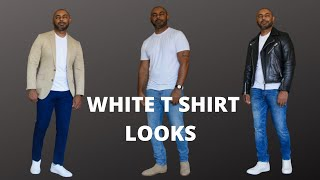 How To Wear A White T Shirt 6 …