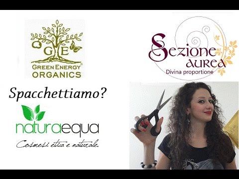 Spacchettiamo? Naturaequa, Green Energy Organics & Sezione Aurea Cosmetics