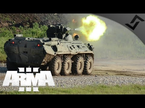 Serbian Mechanized Infantry w/ BTR-80a ArmA 3 - Special Forces Airfield Assault