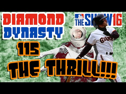 WILL CLARK CAN CRUSH! | MLB The Show 16 Diamond Dynasty E115