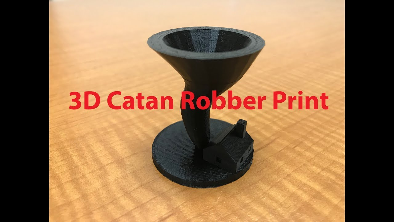 image regarding Settlers of Catan Printable called The Settlers of Catan: Robber Tornado Print