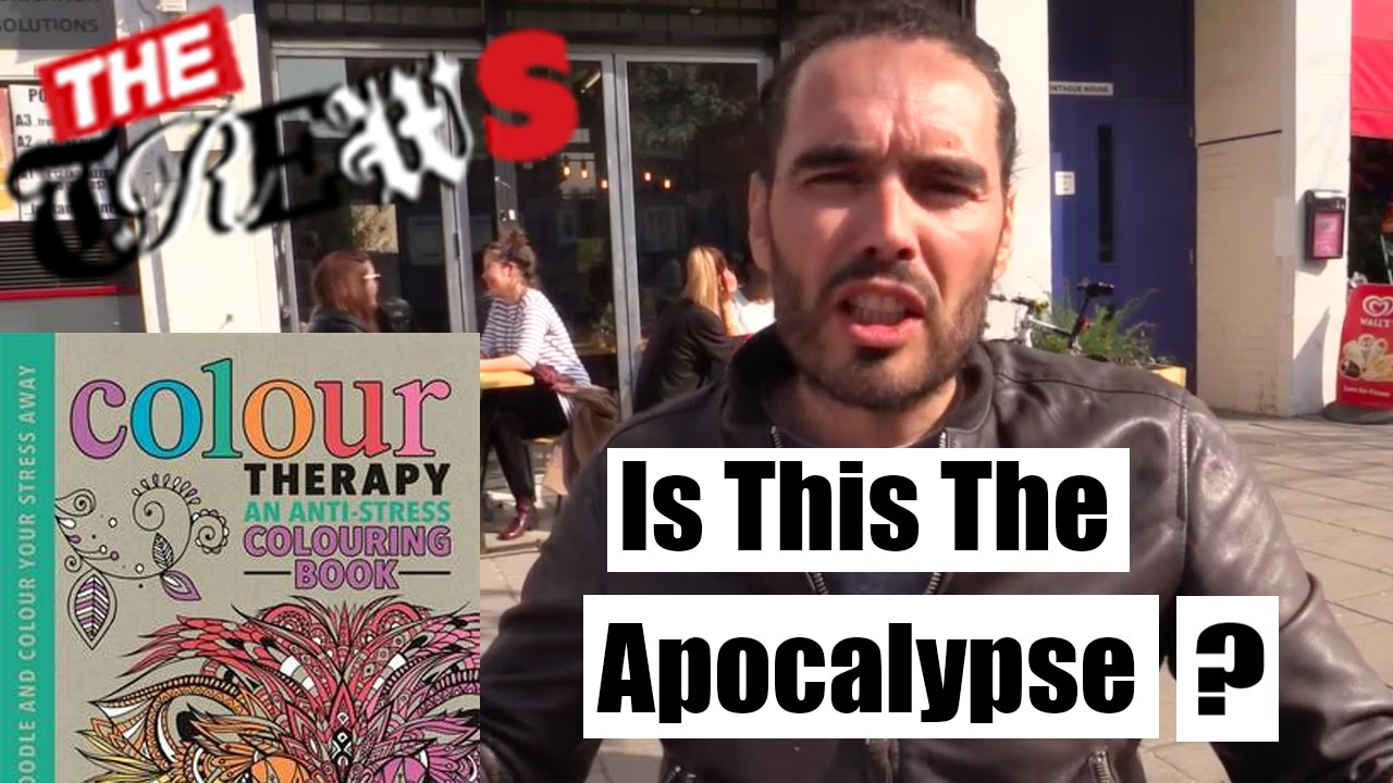 Grown up colouring books benefits - Adult Colouring Books Is This The Apocalypse Russell Brand The Trews E295