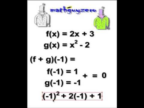 Function arithmetic
