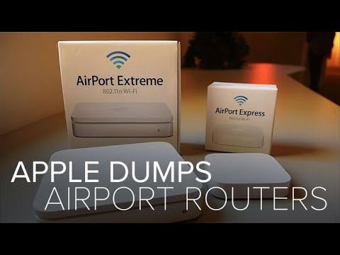 Apple dumps AirPort routers (CNET News)