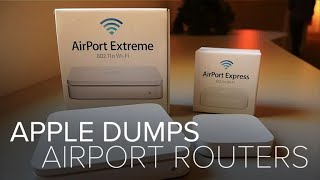 Gambar cover Apple dumps AirPort routers (CNET News)