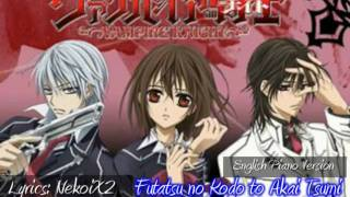 Vampire Knight OP (ENGLISH Piano Cover)