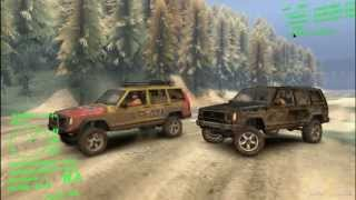 Spin Tires Jeep Cherokee