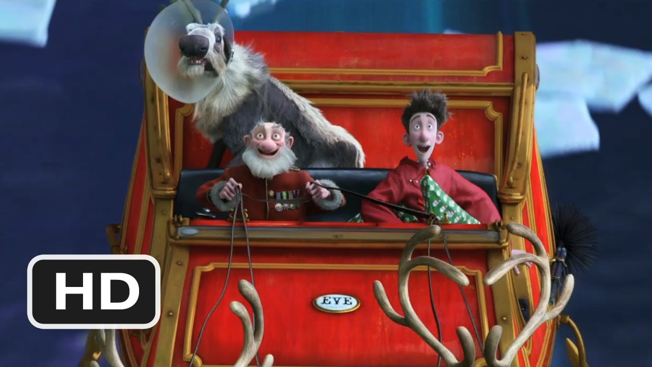 Arthur Christmas 5 Movie Clip A Night Sleigh Ride 2011 Hd Youtube