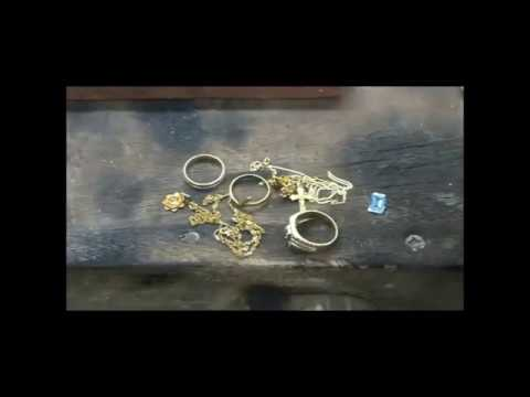 Copy of YARING PLATERO Video 63 - Recycling of scrap gold to a white gold Bangle