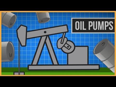 How Do Oil Derrick Pumpjacks Work?