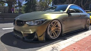 BMW M4 F82 w/ Fi-Exhaust! Revs & Wheelspin!