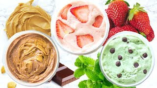 HEALTHY ICE CREAM! DAIRY FREE ICE CREAM RECIPES!