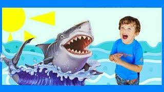 Marek Jr Matchbox Shark Ship   The Meg   Megalodon Pretend Play