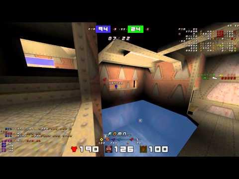 QuakeWorld - EQL 19 Grand Finals - Map 1 (dm3)