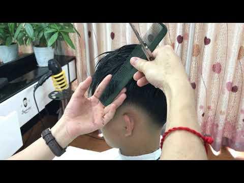 Kĩ thuật  cắt và tỉa kiểu tóc FREETEX - TÓC NAM ĐẸP 2020