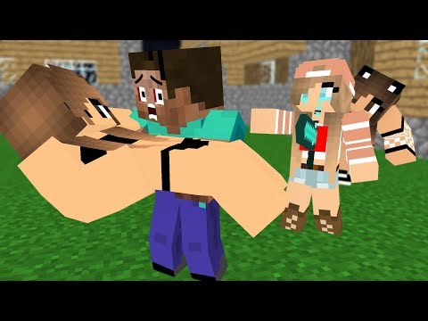Monster School : Steav Life Vs Cute Girl  Part ( III )- Minecraft Animation