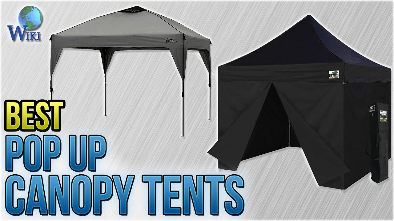10 Best Pop Up Canopy Tents 2018  sc 1 st  YouTube & 10 Best Pop Up Canopy Tents 2018 - YouTube