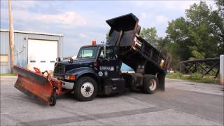 1999 International 4700 dump truck for sale | sold at auction September 11, 2014